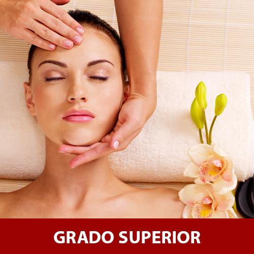 CURSO DE ESTÉTICA GRADO SUPERIOR - NIVEL 3 - 24 MESES