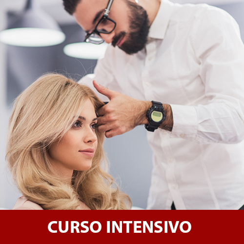 CURSO INTENSIVO PELUQUERÍA - 3 MESES