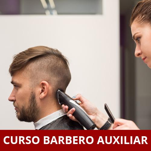 CURSO DE BARBERO AUXILIAR. NIVEL I - 6 MESES